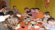 Mikołajowa wycieczka ministrantów............ 6 grudnia 2008