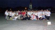 W drodze na Apel Jasnogórski...  5 VII 2009