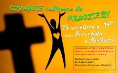 Zaproszenie na wrześniowe Czuwanie dla Młodzieży