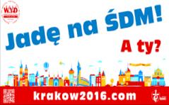 Zapisz się na wyjazd na ŚDM w Karkowie