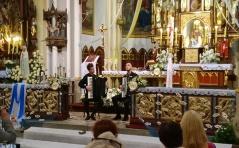 Koncert akordeonowy w naszej świątyni