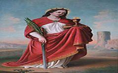 Modlitwa ku czci św. Barbary