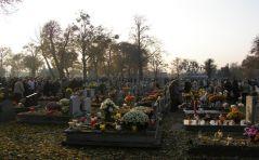 Eucharystia na cmentarzu