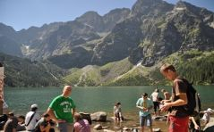 Ministranci w Tatrach